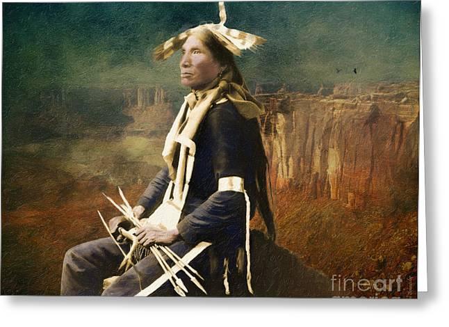 Native Honor Greeting Card