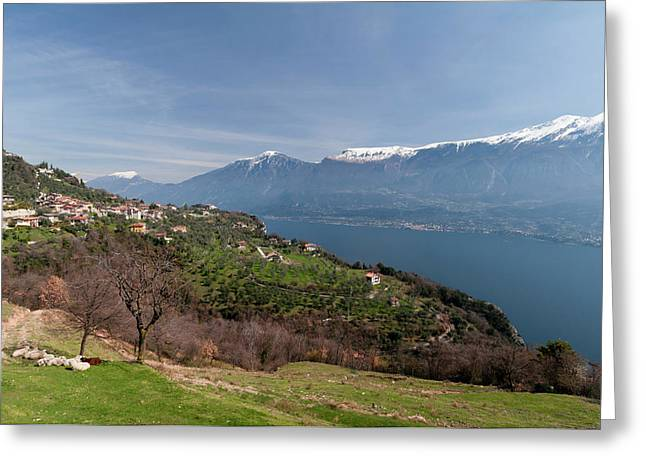Near Tremosine, Lago Di Garda Greeting Card by Sergio Pitamitz