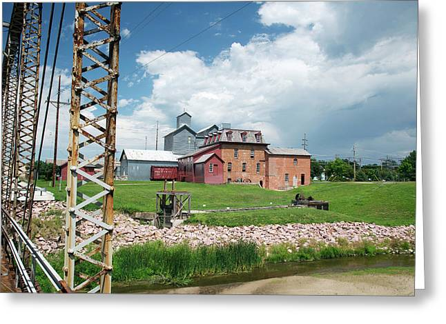 Neligh Mill Greeting Card by Jim West