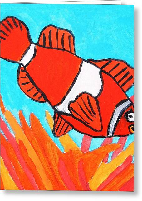 Nemo Greeting Card by Artists With Autism Inc