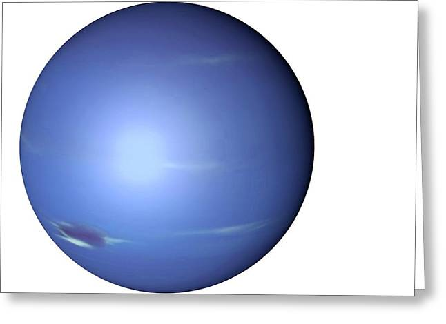 Neptune From Space Greeting Card