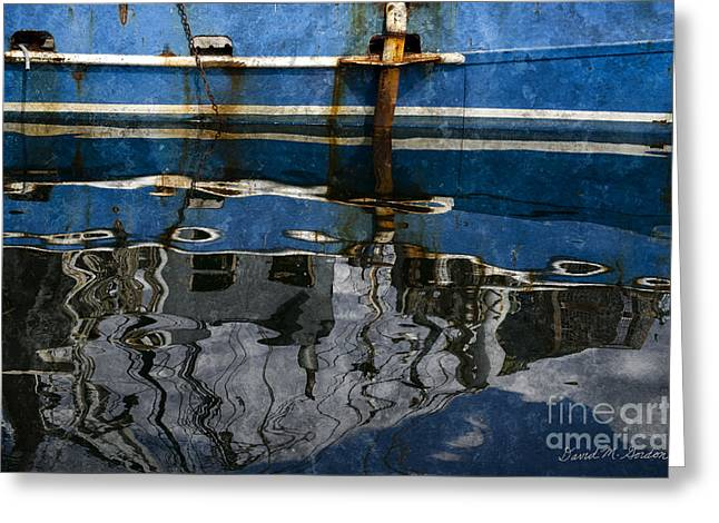 New Bedford Waterfront No. 9 Greeting Card by Dave Gordon