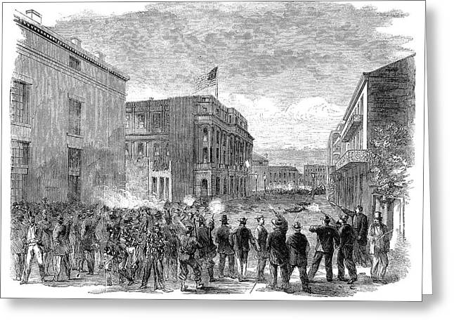 New Orleans Riot, 1866 Greeting Card by Granger