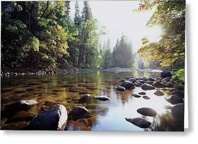 New York, Adirondack Mountains Greeting Card
