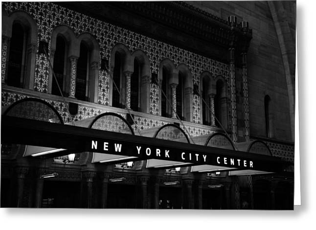 New York City Center Greeting Card by Dan Sproul
