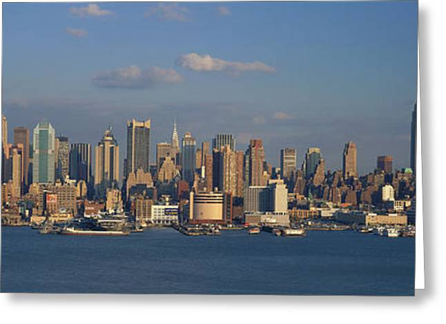 New York City Ny Greeting Card by Panoramic Images