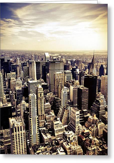 New York City Skyscrapers Greeting Card
