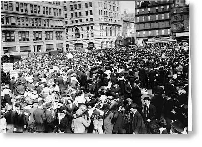 New York May Day, 1913 Greeting Card by Granger