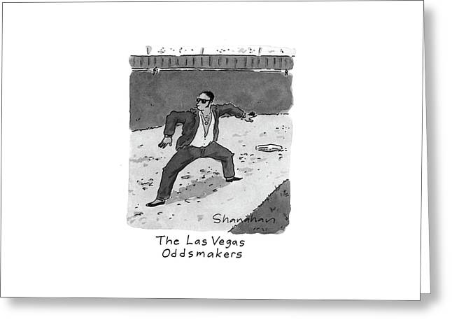 New Yorker April 5th, 1993 Greeting Card