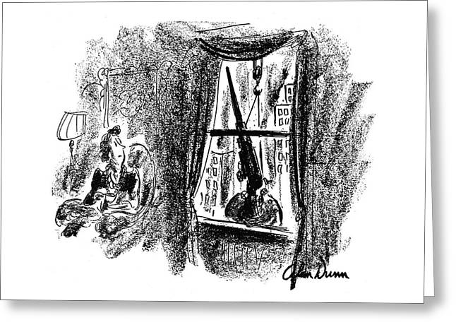 New Yorker December 27th, 1941 Greeting Card by Alan Dunn