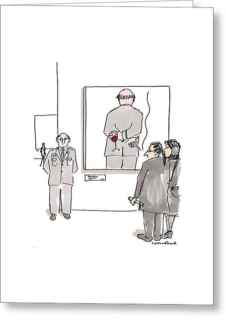 New Yorker December 7th, 1998 Greeting Card by Michael Crawford