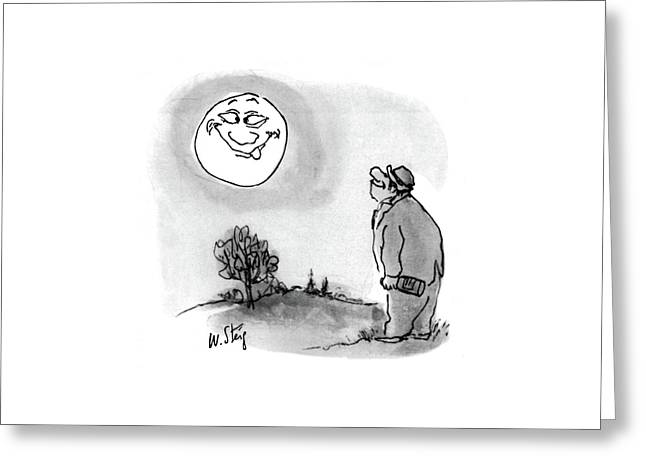 New Yorker July 6th, 1968 Greeting Card by William Steig