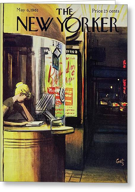 New Yorker May 6th 1961 Greeting Card