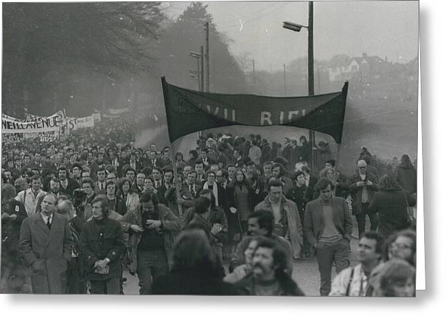 Newry March Passes Off Peacefully Greeting Card by Retro Images Archive