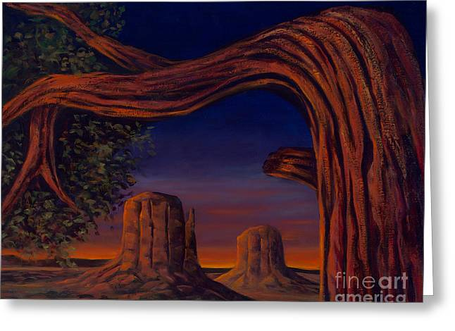 Night Sentinels Greeting Card