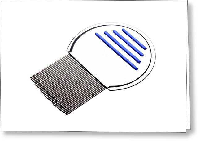 Nit Comb For Removing Headlice From Hair Greeting Card