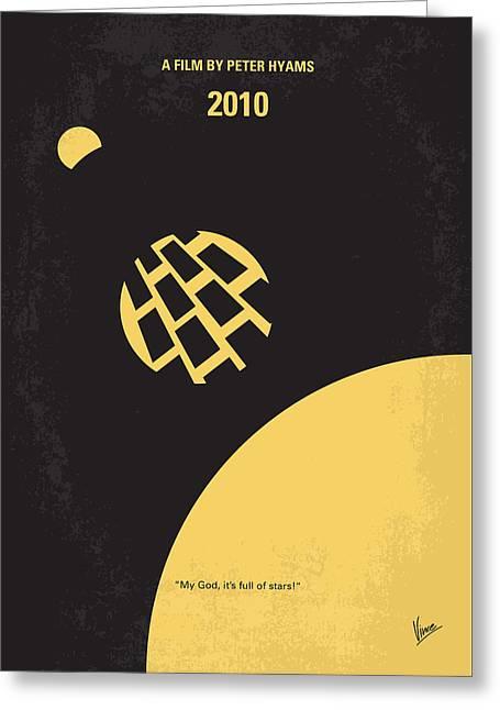 No365 My 2010 Minimal Movie Poster Greeting Card by Chungkong Art