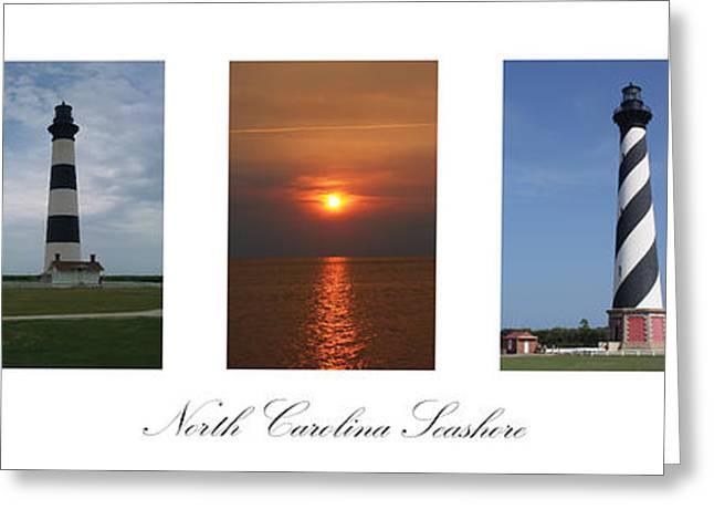North Carolina Seashore Greeting Card