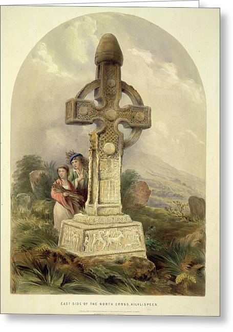 North Cross Greeting Card