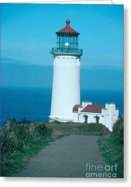 North Head Lighthouse Greeting Card by Bruce Roberts