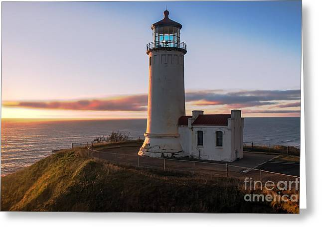 North Head Lighthouse  Greeting Card by Robert Bales