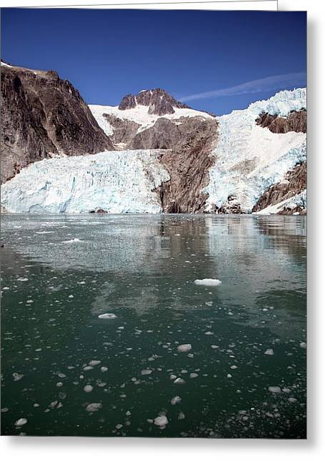 Northwestern Glacier Greeting Card by Jim West