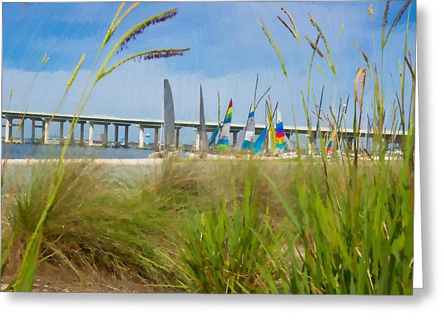 Ocean Springs Yacht Club Greeting Card
