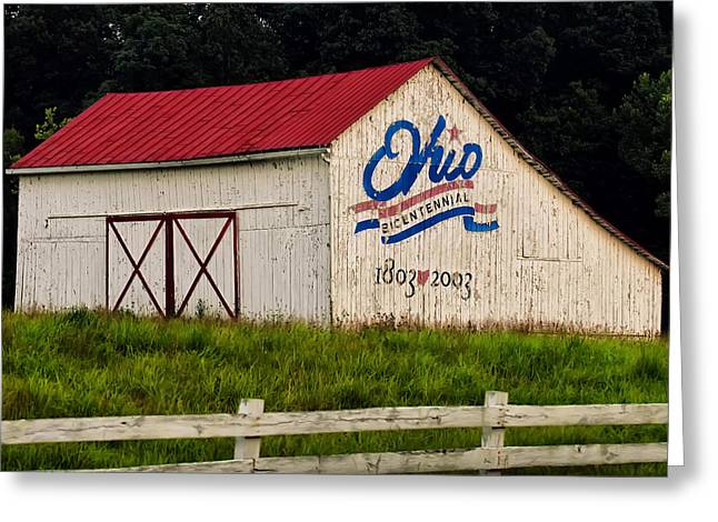 Ohio Bicentennial Barn Greeting Card