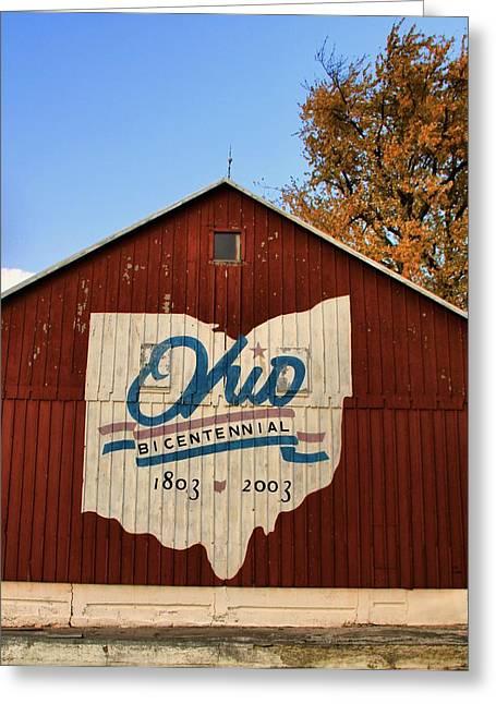 Ohio Greeting Card