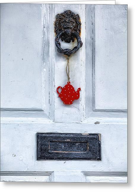 Old Door Greeting Card by Joana Kruse