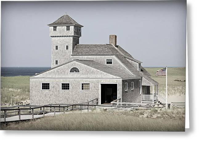 Old Harbor Lifesaving Station -- Cape Cod Greeting Card