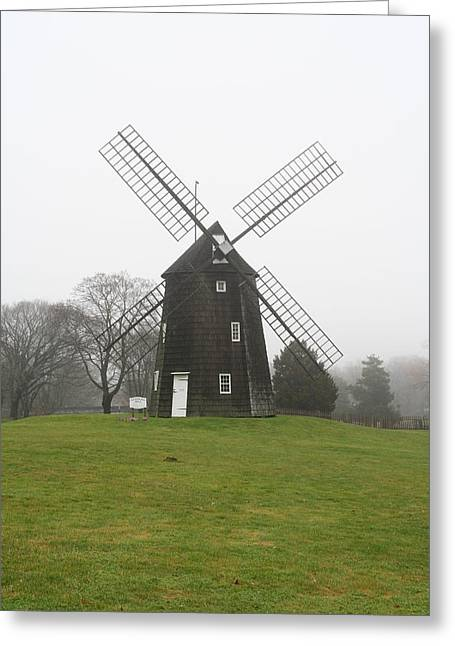 Old Hook Mill Greeting Card