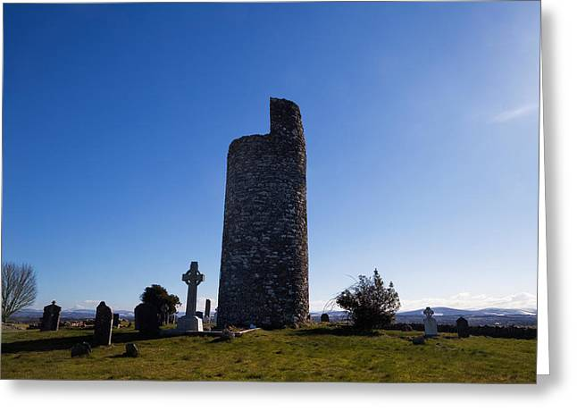 Old Kilcullen Round Tower, County Greeting Card