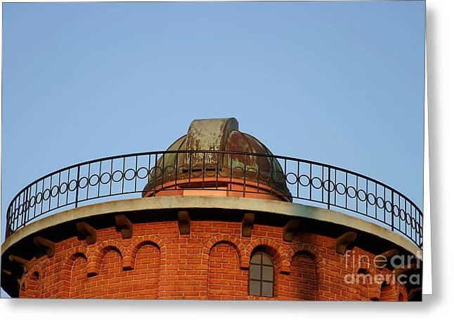 Greeting Card featuring the photograph Old Observatory by Henrik Lehnerer