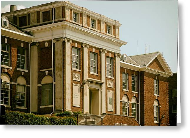 On The Campus Of Howard University - Washington Dc Greeting Card by Mountain Dreams
