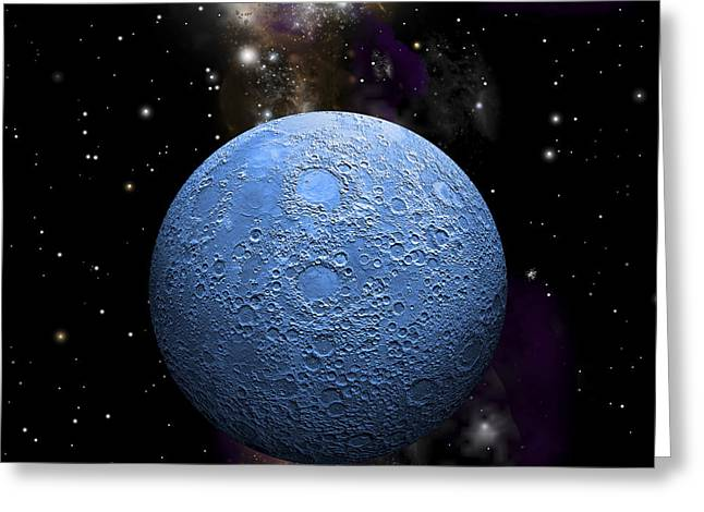 Once In A Blue Moon No.2 Greeting Card