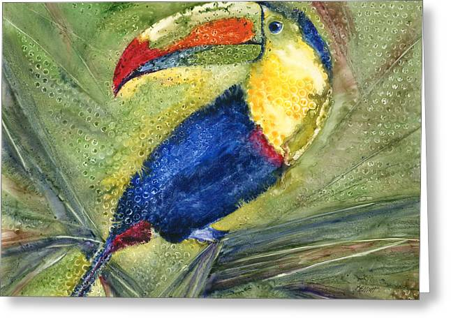 One Cant But Toucan Greeting Card