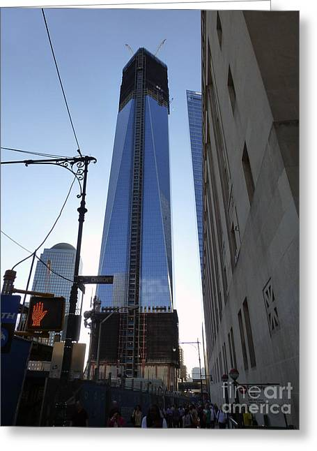 One Wtc Greeting Card