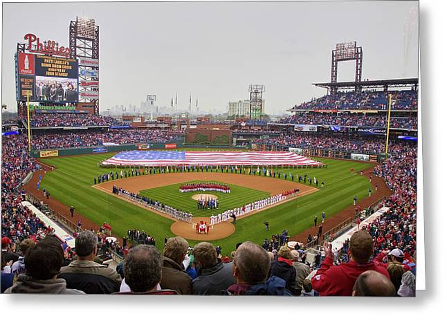 Opening Day Ceremonies Featuring Greeting Card