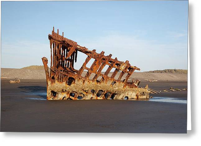 Or, Fort Stevens State Park, Wreck Greeting Card by Jamie and Judy Wild