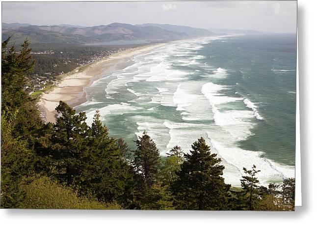 Or, Oregon Coast, Neahkahnie Beach Greeting Card by Jamie and Judy Wild