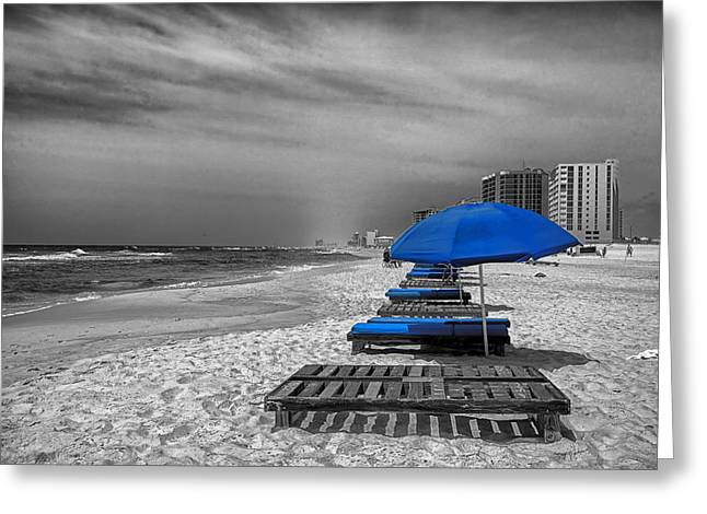 Orange Beach In Alabama Greeting Card