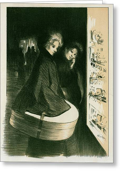 Original Drawing For Les Maîtres De Lposter Greeting Card by Liszt Collection