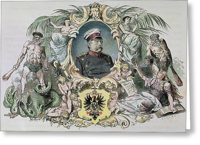 Otto-leopold Bismarck, Prince Greeting Card by Prisma Archivo