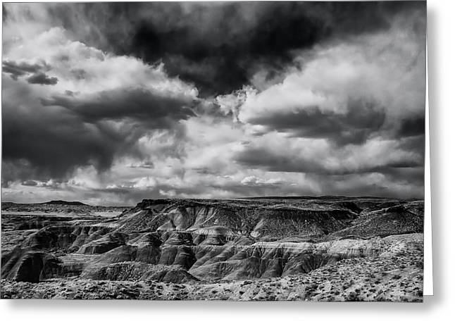 Painted Desert From Lacey Point Greeting Card