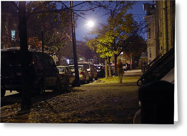 Palmetto St. In Ridgewood Queens Nyc Greeting Card