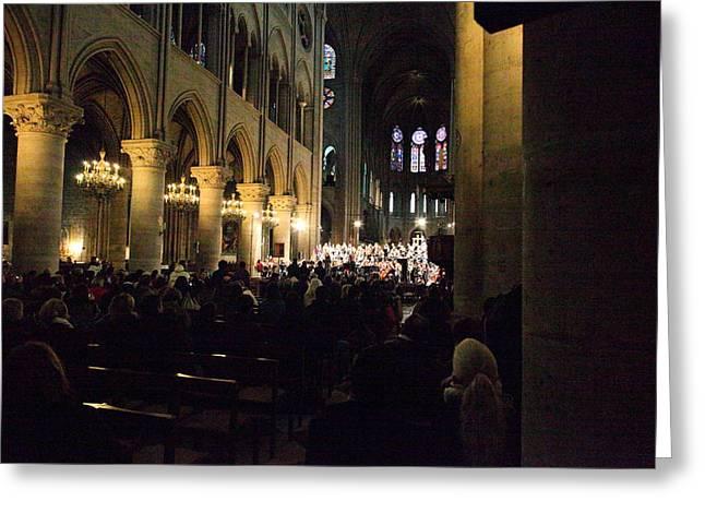 Paris France - Notre Dame De Paris - 01131 Greeting Card