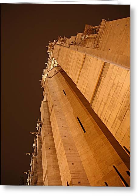 Paris France - Notre Dame De Paris - 011310 Greeting Card by DC Photographer