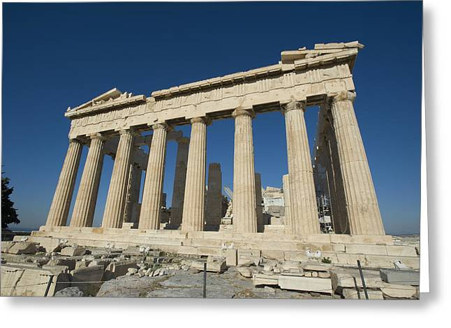 Parthenonathens Greece Greeting Card by Daniel Alexander