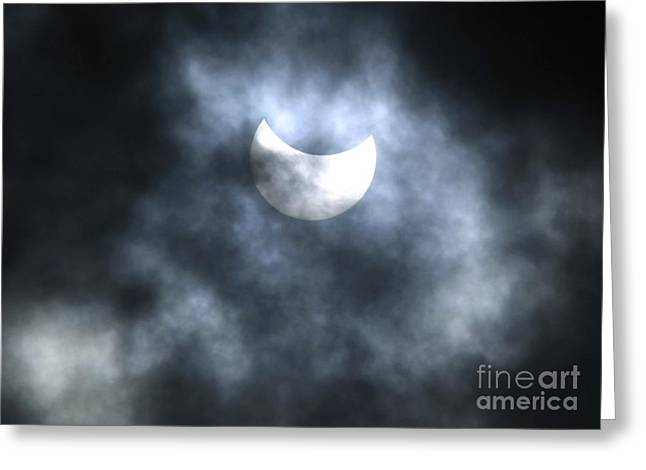 Partial Solar Eclipse, August 2008 Greeting Card